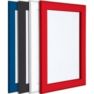 Coloured Snap Frames, 32mm, White, Blue, Red, Green