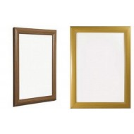 Wooden Effect Snap Frames