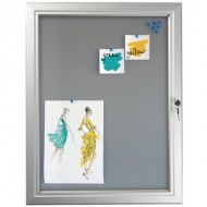 Pin Board Lockable Poster Cases