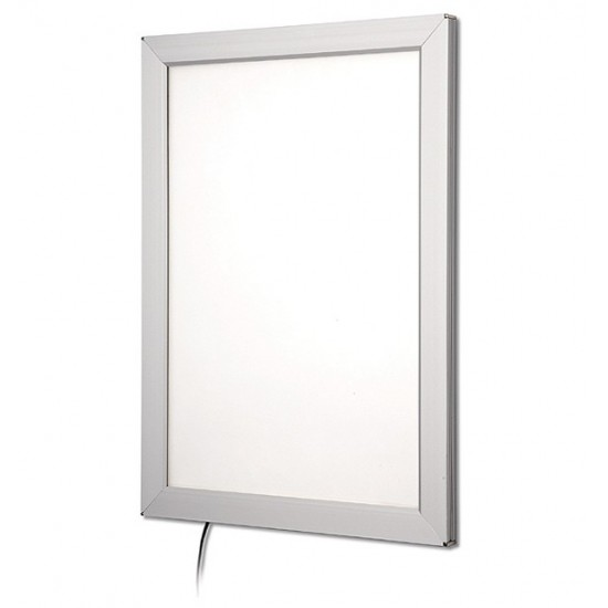 A2 Illuminated Snap Poster Frame, 25mm