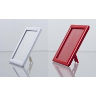 Counter Top Opti Snap Frames, Red, White, Blue