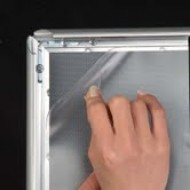 Replacement Anti-Glare UPVC Grade  Cover Sheet for Snap Frames