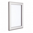 700mm x 1000mm Silver Snap Poster  Frame, 32mm
