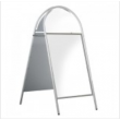 "20"" x 30"" White Tubular Arched Headed A-board"