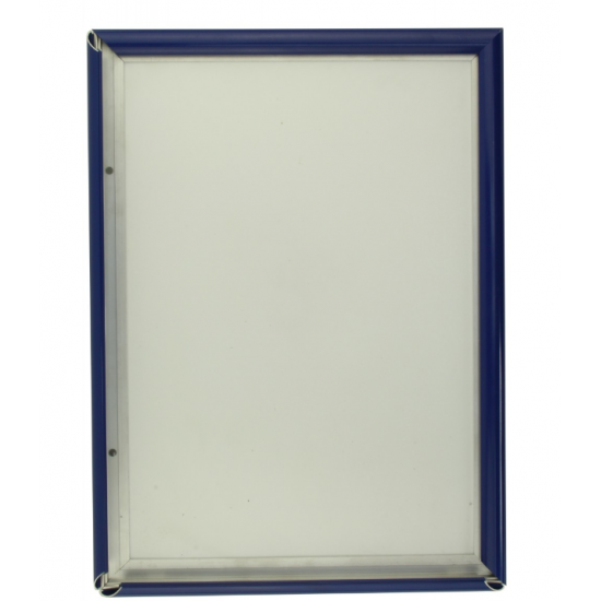 A6 Blue Snap Frame, 15mm from Snap Frames Warehouse