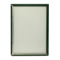 A3 Green 15mm Snap Frame