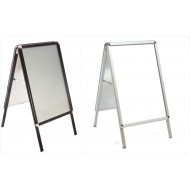 Snap Frame A Boards, Black, Silver