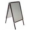 Black Aluminium Snap Frame A boards