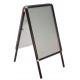 A0 Black Aluminium Snap Frame A-Board