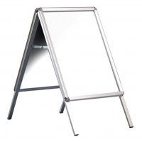 "30"" x 40"" Silver Snap Frame A Board"