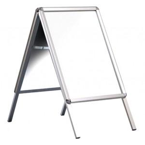 Silver Aluminium Snap Frame A Boards