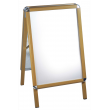 A0 Pine Effect Snap Frame A Board