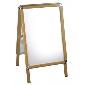 Wooden Effect Snap Frame A Boards