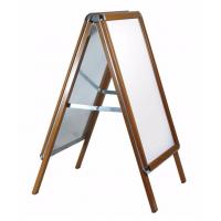 A0 Oak Effect Snap Frame A Board
