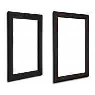 Black Snap Frames, 25mm and 32mm profiles