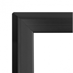 A0 Black 32mm Snap Frame