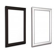 Movie Poster Snap Frames, 25mm, in Black and Silver