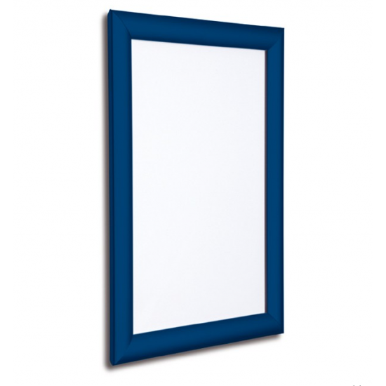 A1 Blue Snap Poster Frame 25mm From Snap Frames Warehouse