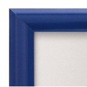 A0 Blue 25mm Snap Frame