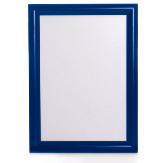 A1 Blue Snap Poster Frame, 25mm from Snap Frames Warehouse