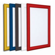 Custom Coloured Poster Snap Frames