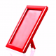 A4 Red Counter Standing Snap Frame, 14mm
