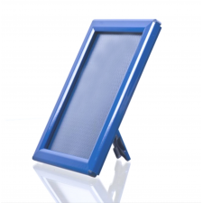 A4 Blue Counter Standing Opti Snap Frame, 14mm