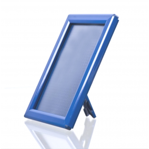 Counter Top 14mm Snap Frames, Red, Blue, White