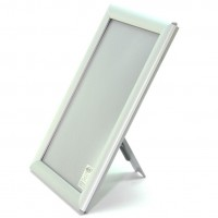 A4 White Counter Standing 14mm Snap Frame