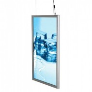 Double Sided Smart LED Light Box, Illuminated Snap Frame