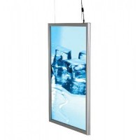 A2 Double Sided Snap Frame Light Box