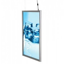 A1 Double Sided Smart LED Light Box, Illuminated Snap Frame
