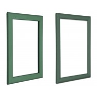 Green Snap Poster Frame, 25mm, 32mm, 14mm