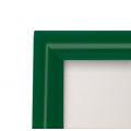 A0 Green 25mm Snap Frame