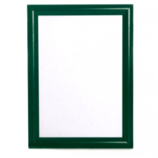 A1 Green Snap Poster Frame, 25mm from Snap Frames Warehouse