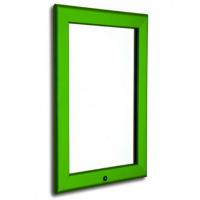 A1 Lockable Green 32mm Snap Frame