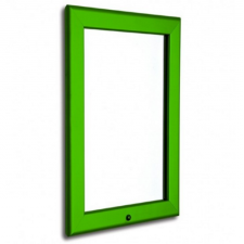 A3 Lockable Green 32mm Snap Frame