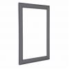Slate Grey 25mm Snap Frames