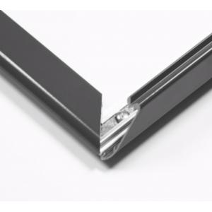 A0 Grey 25mm Snap Frame
