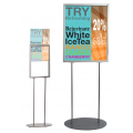 A2 Double Sided Poster Display Stand
