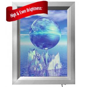 Bespoke Snap Frame Light Boxes, Custom Made to Order