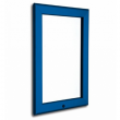 "30""x 40"" Lockable Blue Snap Frame, 32mm"