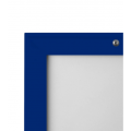 "20"" x 30"" Lockable Blue 32mm Snap Frame"