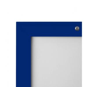 A0 Lockable Blue 32mm Snap Frame