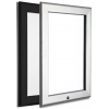Lockable Snap Frames, Black and Silver, 32mm