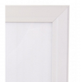 "30""x 40"" Lockable White Snap Frame, 32mm"