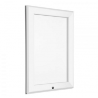A1 Lockable White 32mm Snap Frame