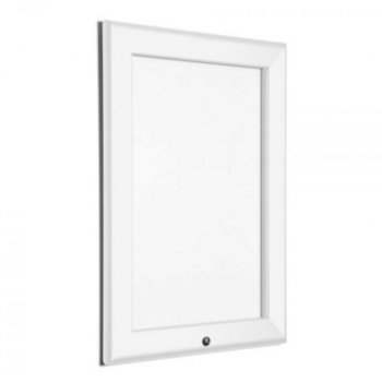 A0 Lockable White 32mm Snap Frame