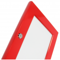 A0 Red Lockable Poster Case