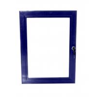 A0 Blue Lockable Poster Case